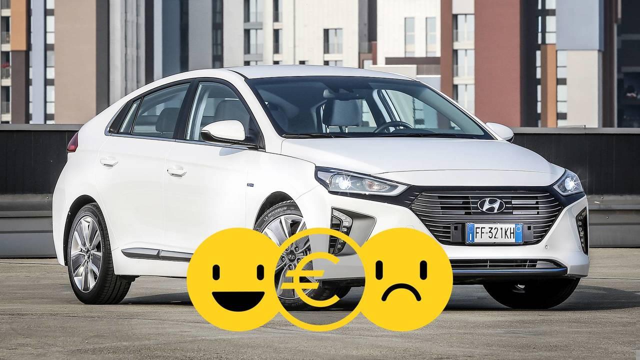 Hyundai Ioniq Hybrid, la promozione