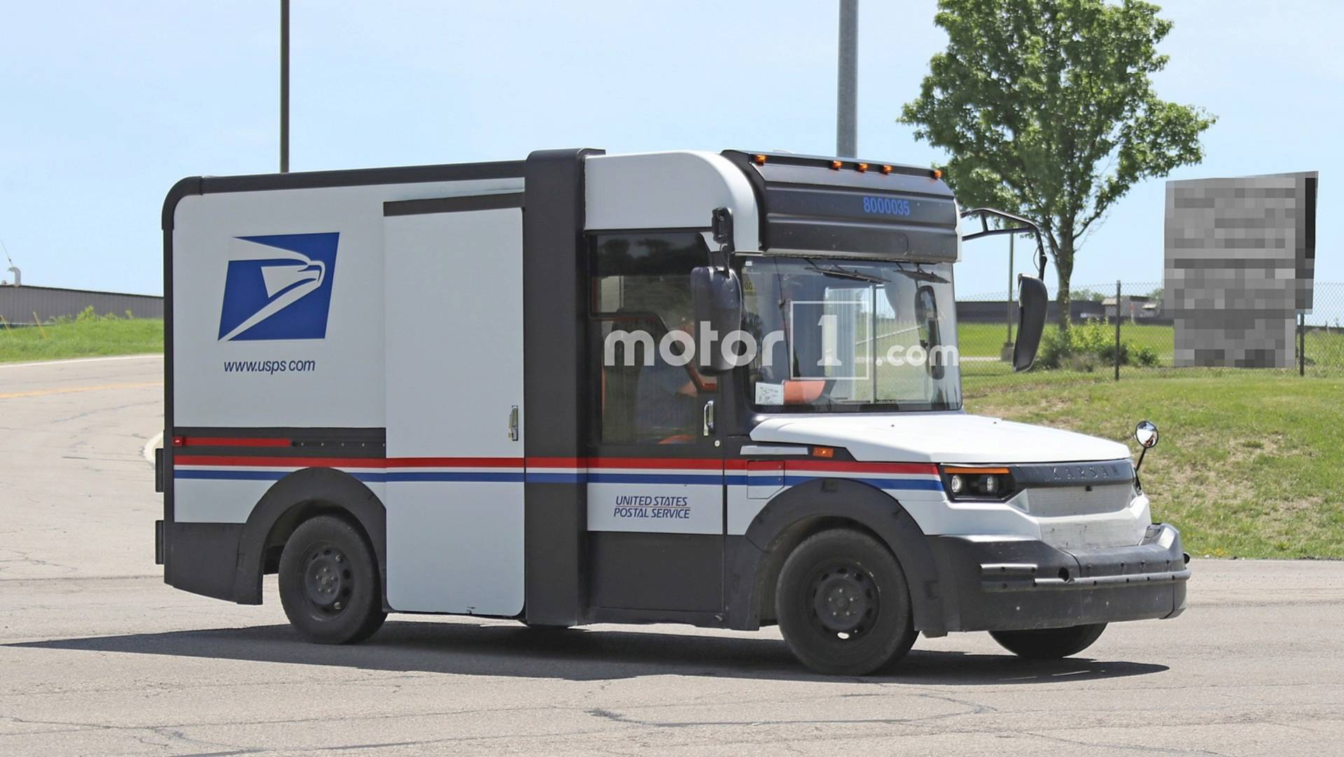 postal service truck contract