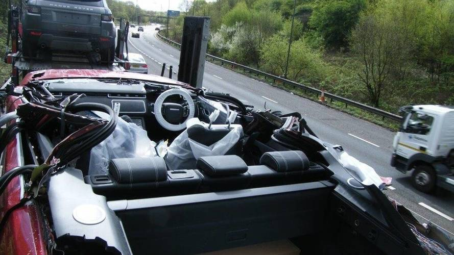 Transporter Driver Accidentally Invents Velar Convertible