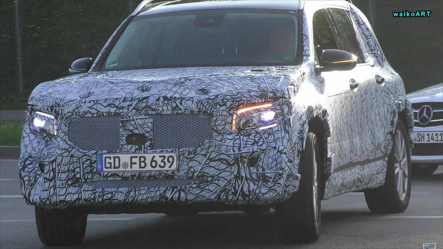 Mercedes GLB Spy Video Provides Closer Look At The Boxy SUV