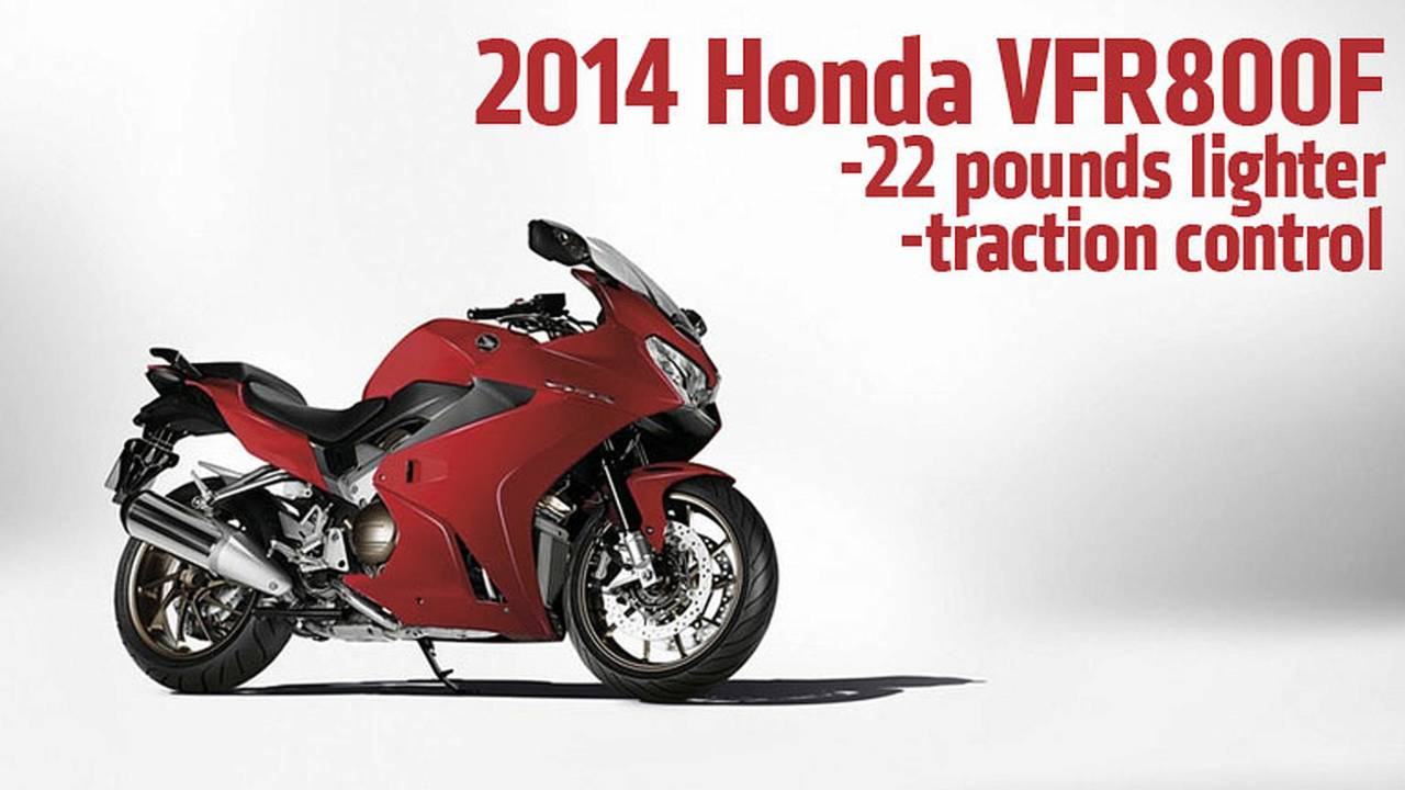 2013 EICMA: 2014 Honda VFR800F - First Photos and Specs
