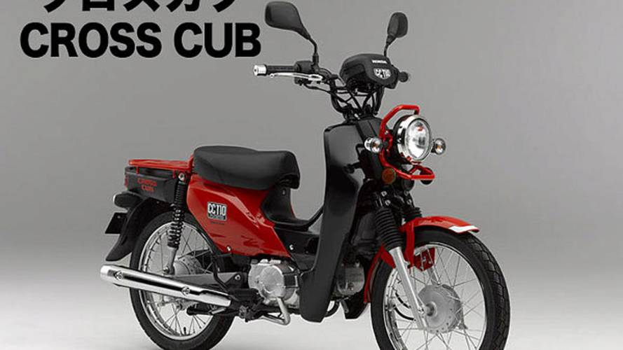 Honda Introduces New Cross Cub Concept Bikes
