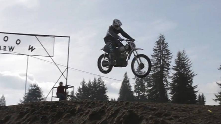 Vintage motocross in the northwest with Hammarhead
