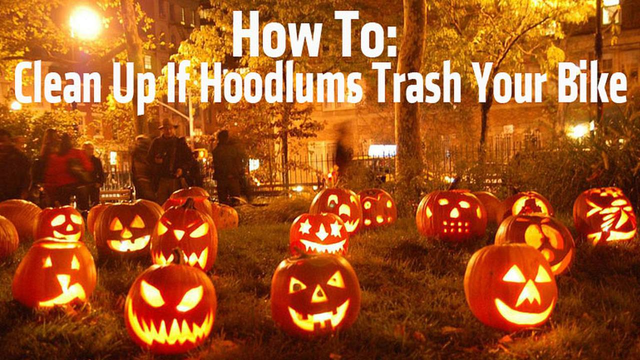 How To Clean Up If Hoodlums Trash Your Bike - Motorcycle Vandalism Redemption