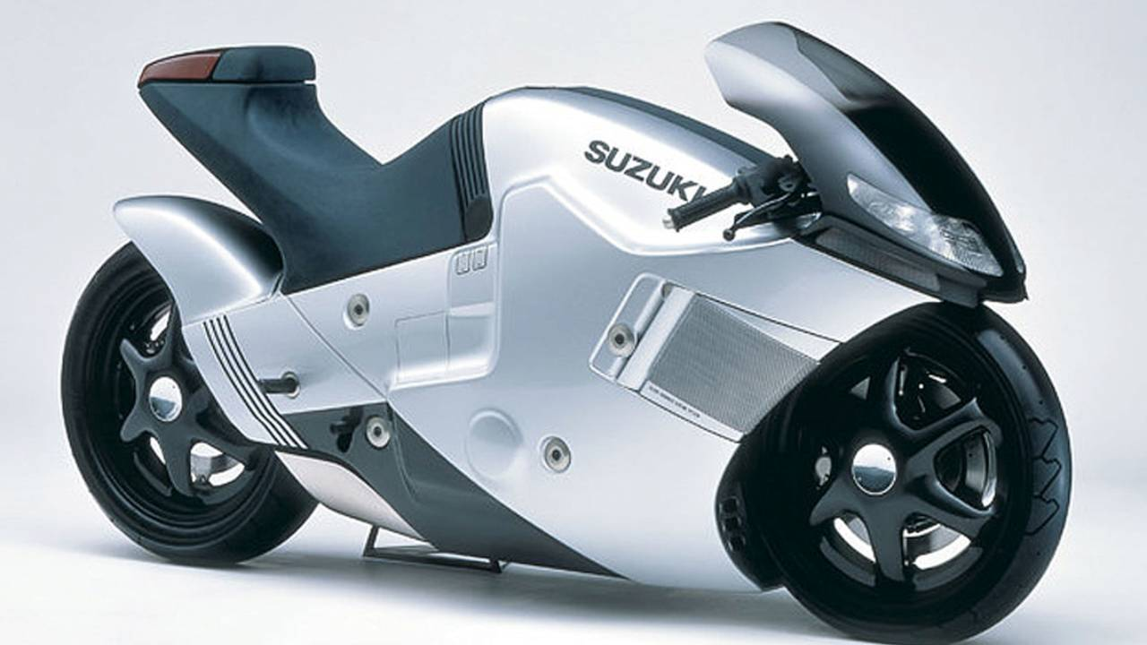 Cycleweird Short: The Suzuki Nuda Concept