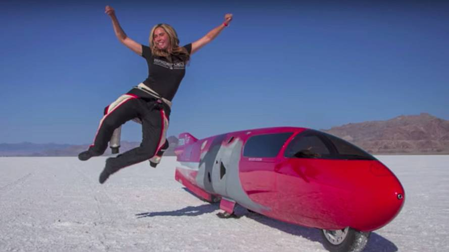 Valerie Thompson Sets Sights on World Speed Record