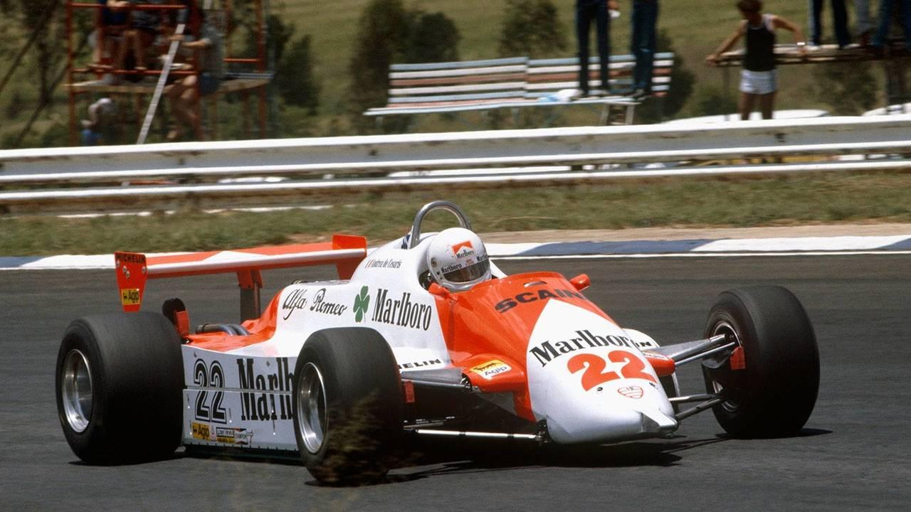 1. Andrea de Cesaris (208 Grandes Premios)