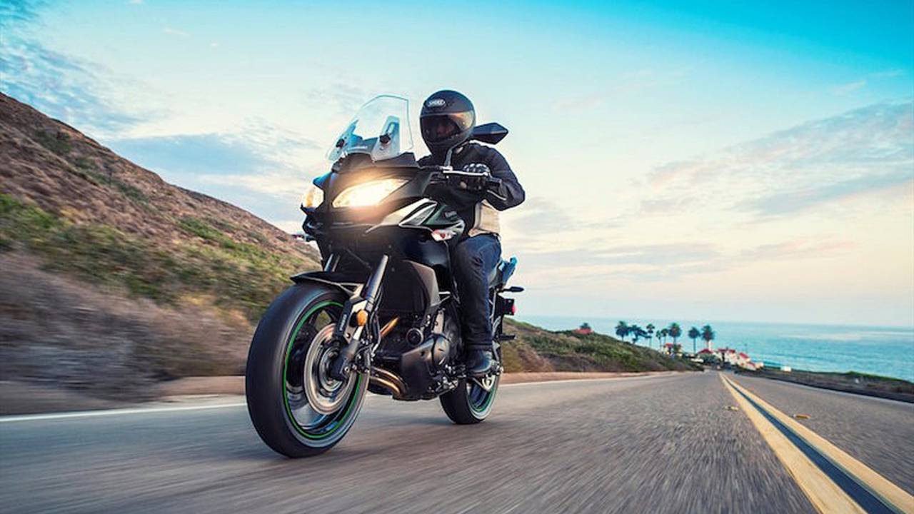 Kawasaki Versys 650, 1000 Tweaked for 2017