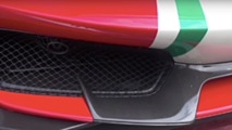 488 Pista Piloti Ferrari Detailed In Goodwood Video