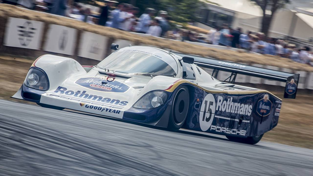 Porsche 70 anni Goodwood