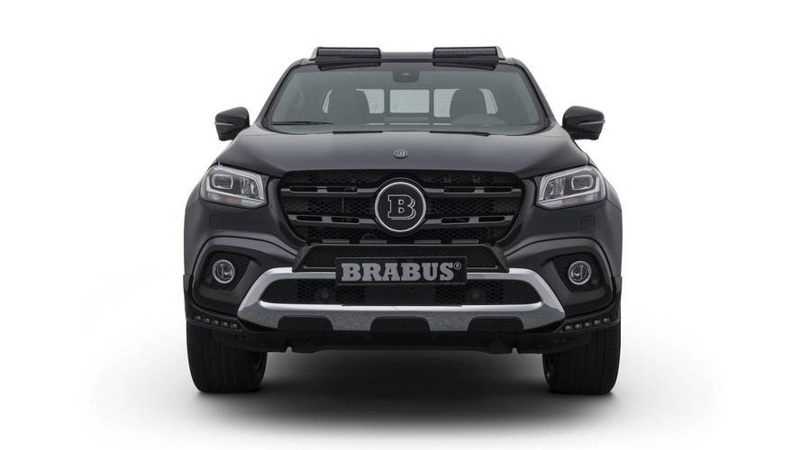 Brabus reveals tuned Mercedes X-Class pickup truck