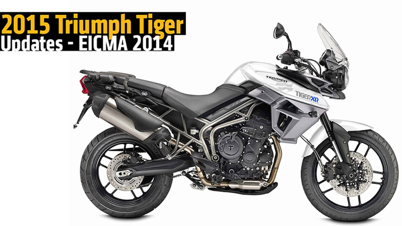 2015 Triumph Tiger Updates - EICMA 2014