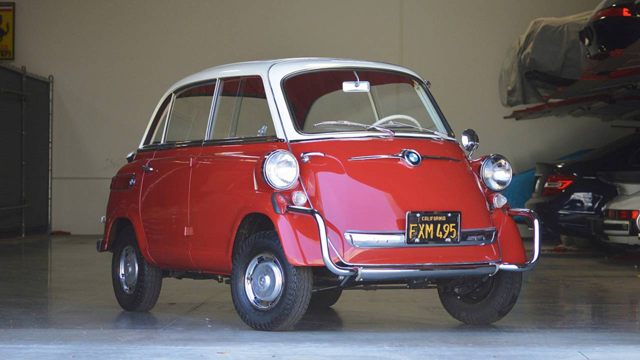 1960 BMW Isetta 600 - $15,600