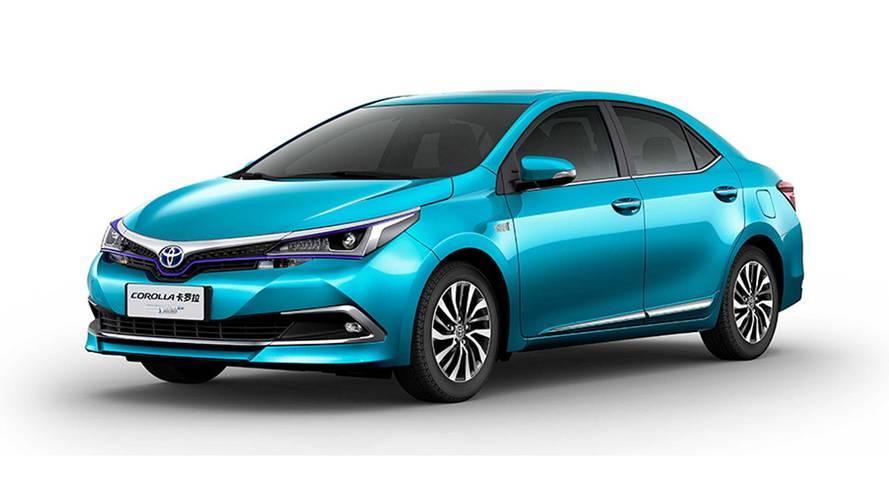 Toyota Corolla híbrido plug-in e C-HR elétrico são revelados na China
