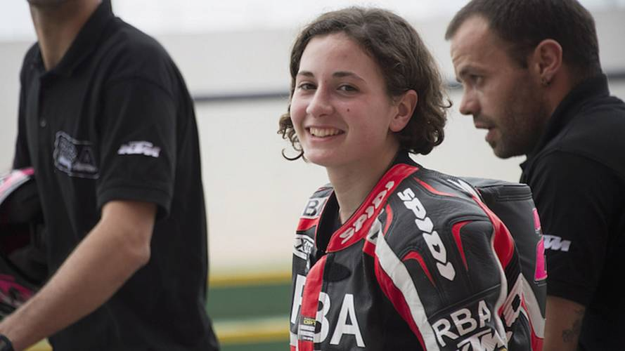 Carrasco First Woman to Win World Championship Race