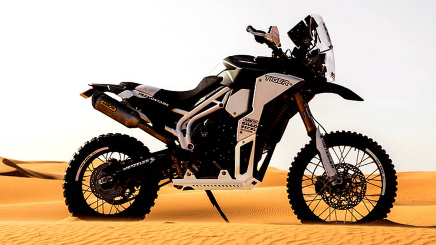 Triumph Unleashes Tiger Tramontana for Panáfrica Rally