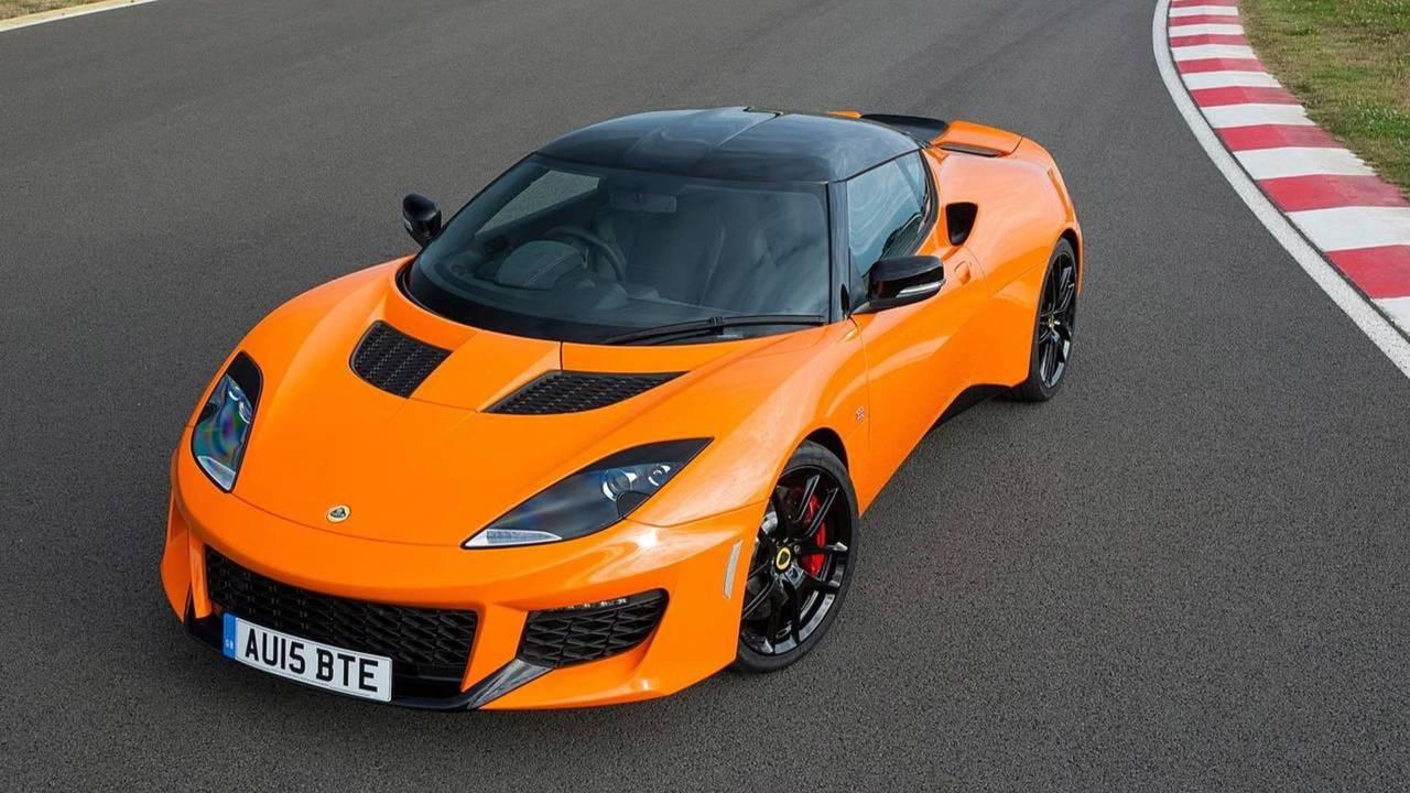 Lotus Evora - Toyota motoru