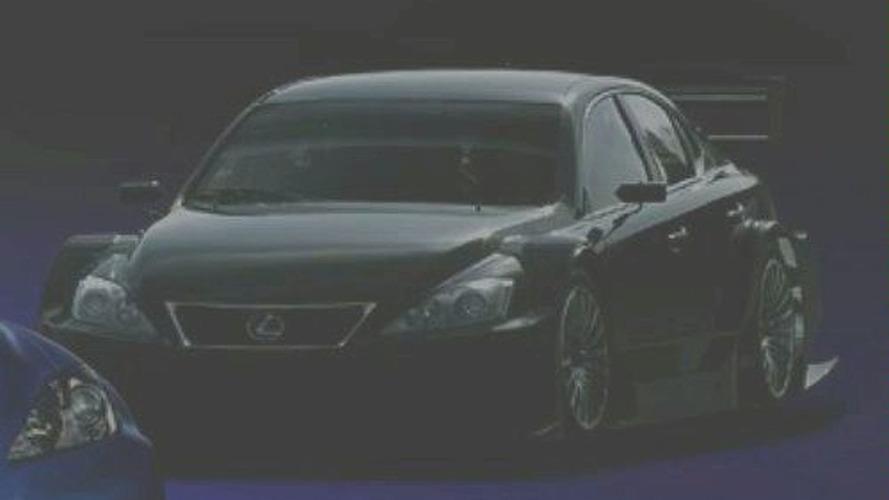Lexus IS-F Racing Concept