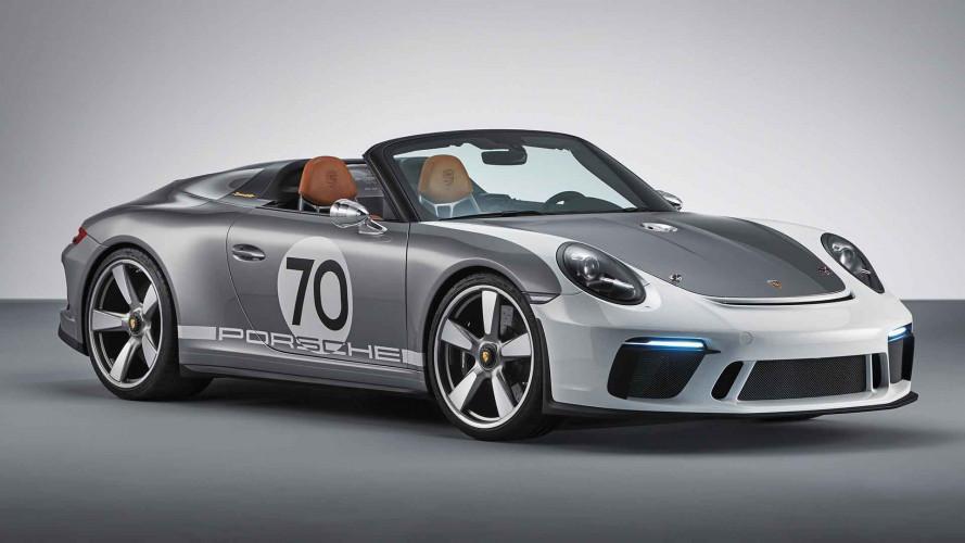 Porsche 911 Speedster (2018): Offener Spezial-Elfer vorgestellt