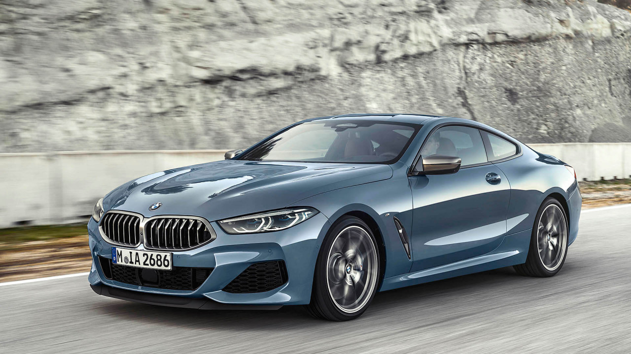 That's the new BMW 8 Series
