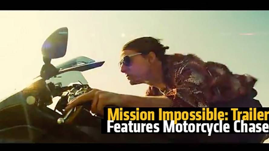 Mission Impossible: Rogue Nation Trailer Features An AWESOME Motorcycle Chase