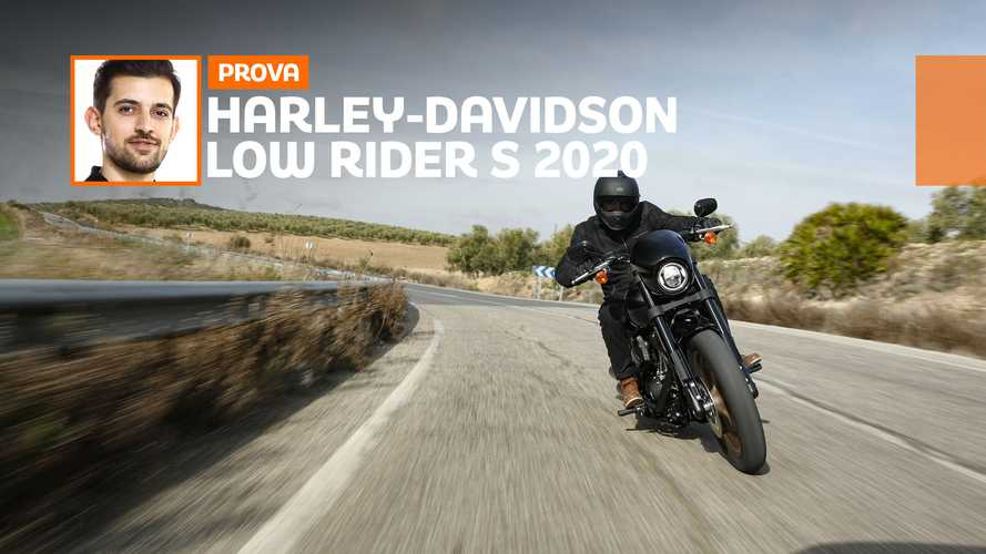 Harley-Davidson Low Rider S 2020– TEST