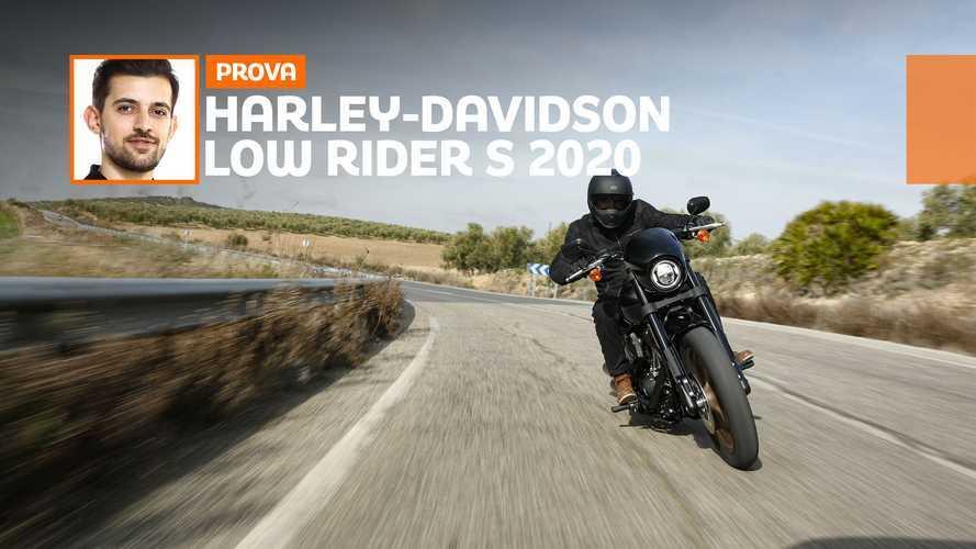 Harley-Davidson Low Rider S 2020, ecco come va