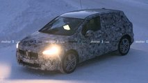 bmw active tourer spy video