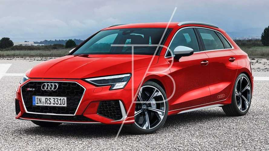 2022 Audi RS3 Sportback Ready To Fight AMG A45 In New Rendering