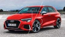 2021 Audi RS3 Sportback render