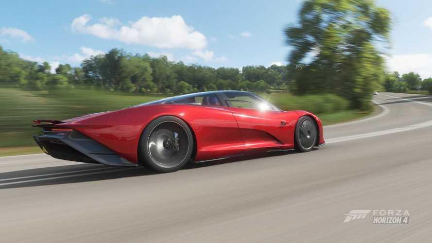 La McLaren Speedtail est disponible dans Forza Horizon 4