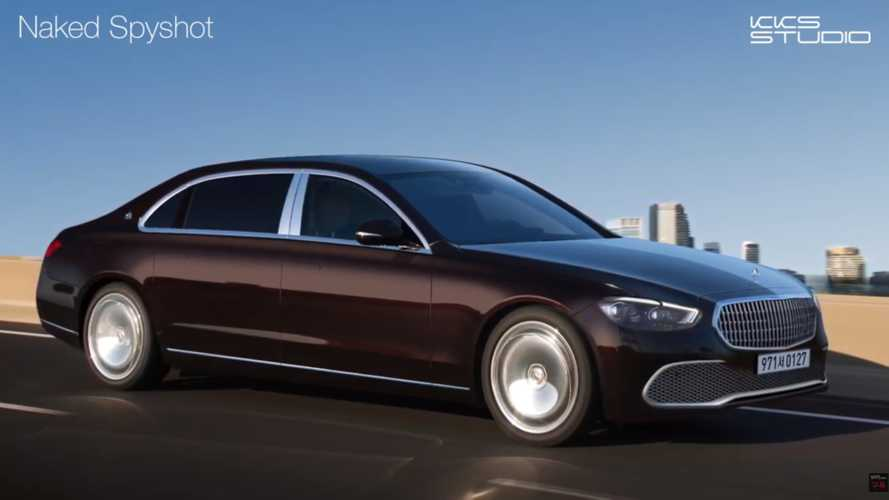New Mercedes-Maybach S-Class Rendering Takes After The Spy Shots