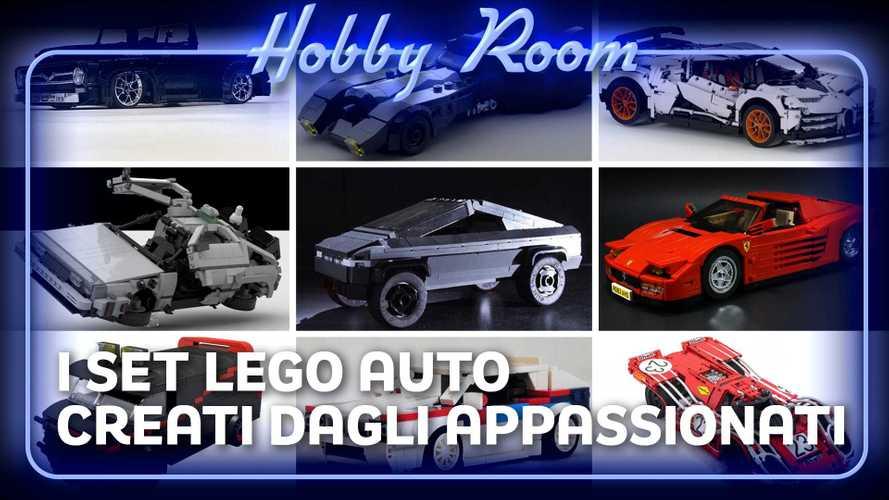 Le istruzioni per set Lego auto fai da te