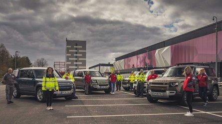 Jaguar Land Rover Donate 160+ Cars To Help Fight Coronavirus