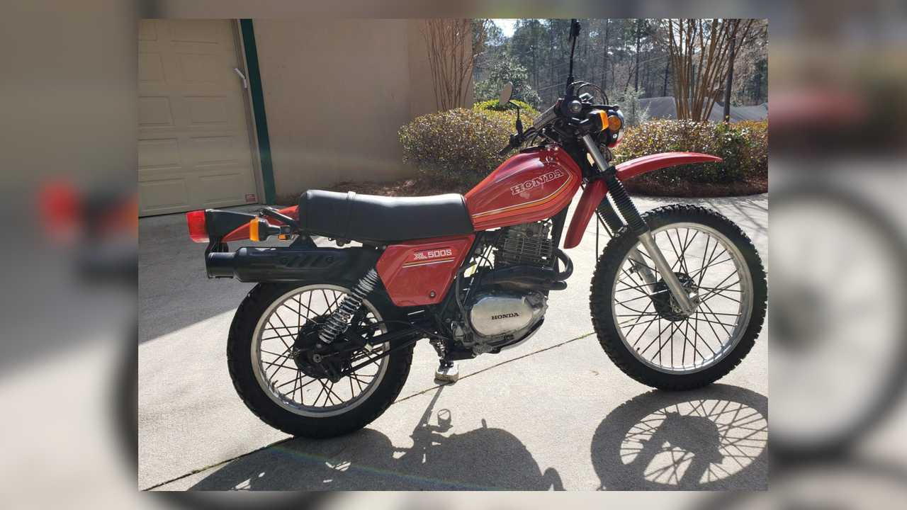 1980 Honda XL500S