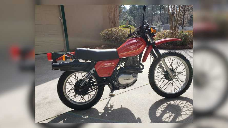 This 1980 Honda XL500S Offers Low-Mileage Excellence