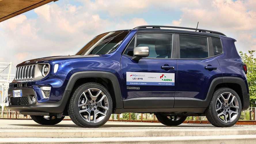 Da FCA Bank e Leasys 130 auto per trasportare tamponi e medici