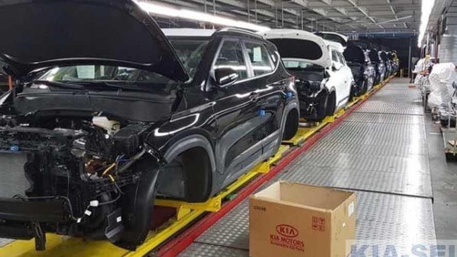 Посмотрите, как в России собирают новый кроссовер Kia