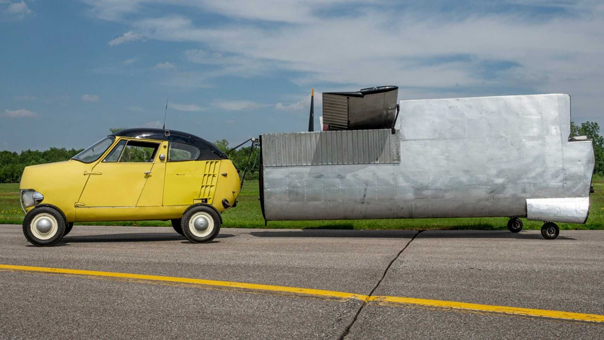 "[""Bid On This 1954 Taylor Aerocar For Soaring Adventures""]"