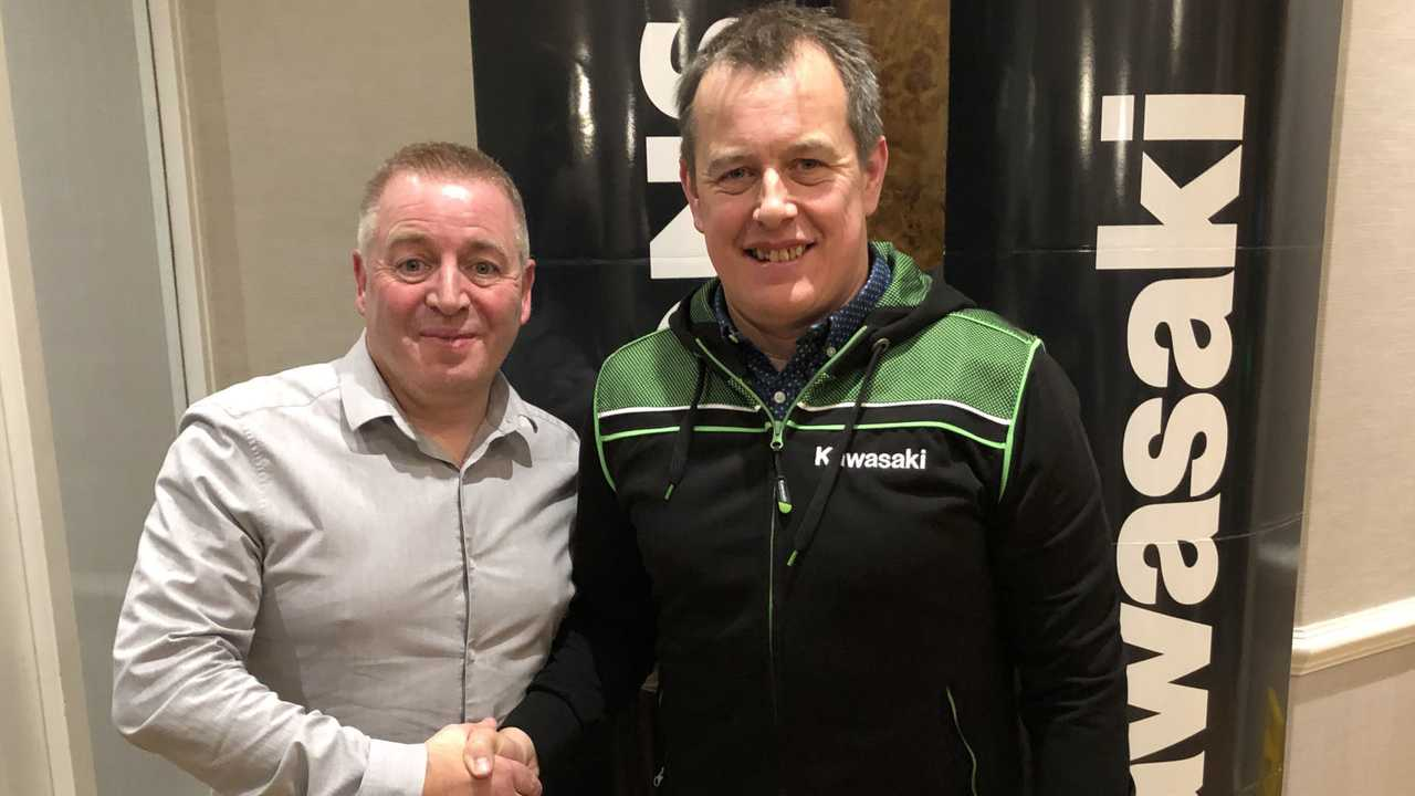 John McGuinness Joins Quattro Plant Bournemouth Kawasaki Team