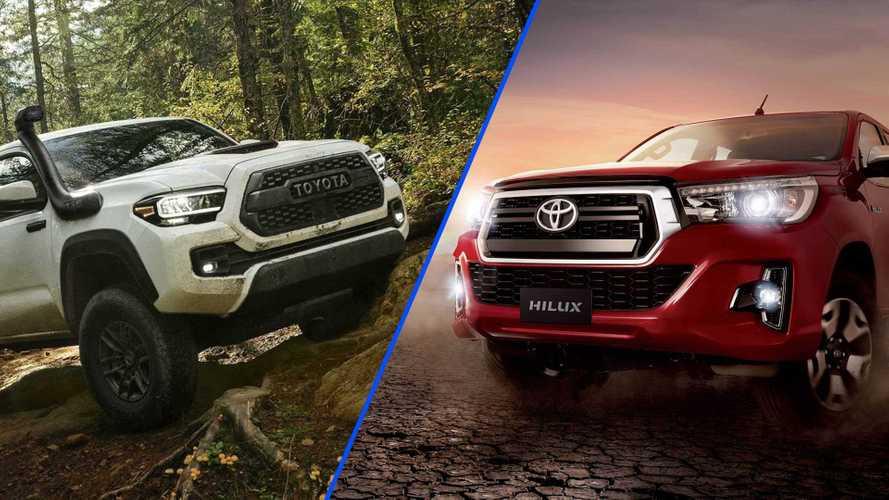 Segredo: Toyota Hilux e Tacoma podem ser unificadas na próxima geração