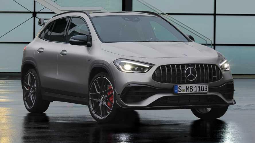 Salone di Ginevra 2020, 387 CV o 421 CV per la Mercedes-AMG GLA 45