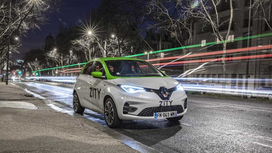 Renault To Launch ZITY Car Sharing In Paris With 500 ZOE