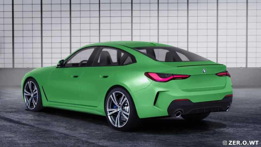 2021 BMW 4 Series Gran Coupe rendering