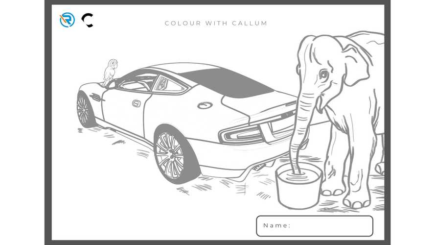 Aston Martin Vanquish 25 colouring sketches