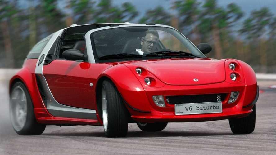 Recordamos el smart roadster V6, una hormiga atómica de BRABUS