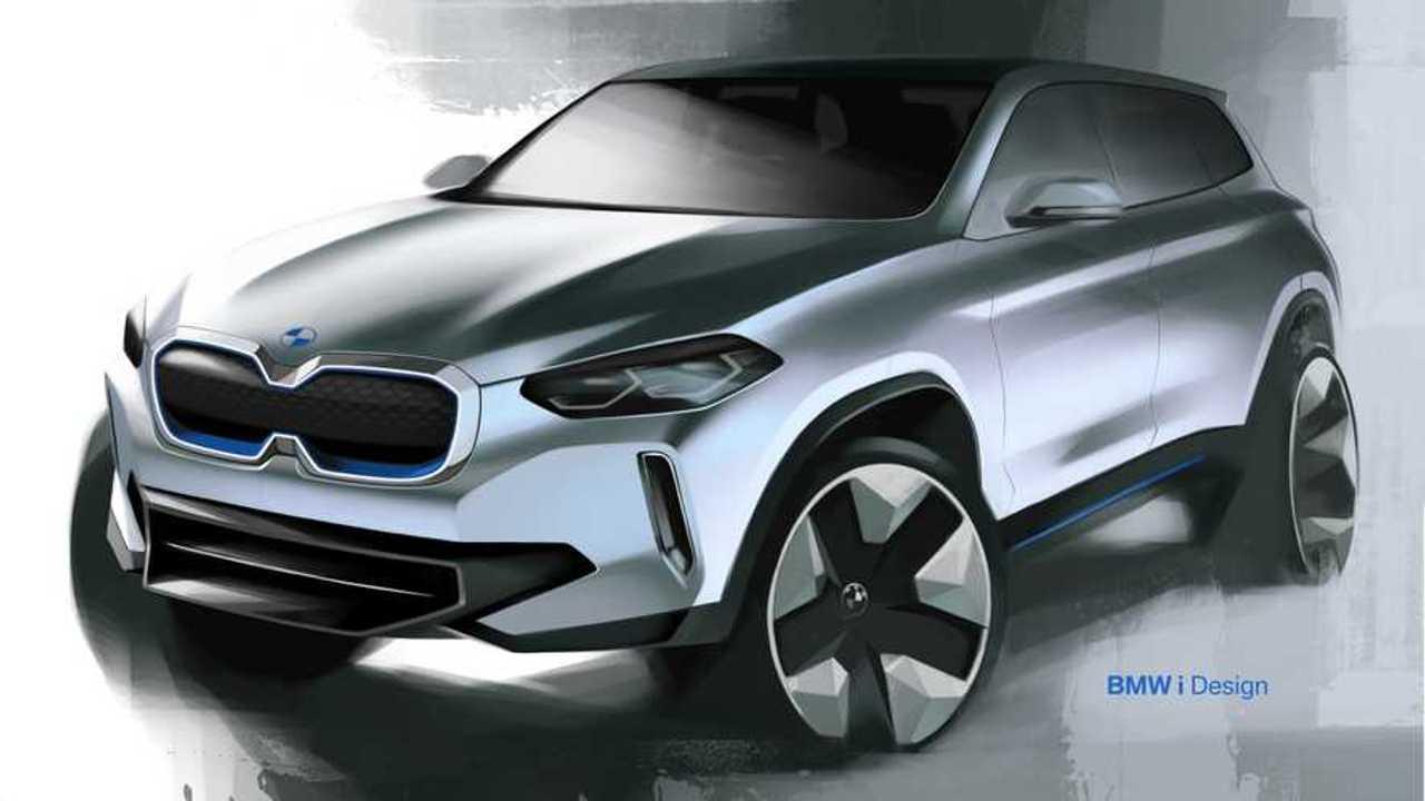 BMW iX3 (teasers)