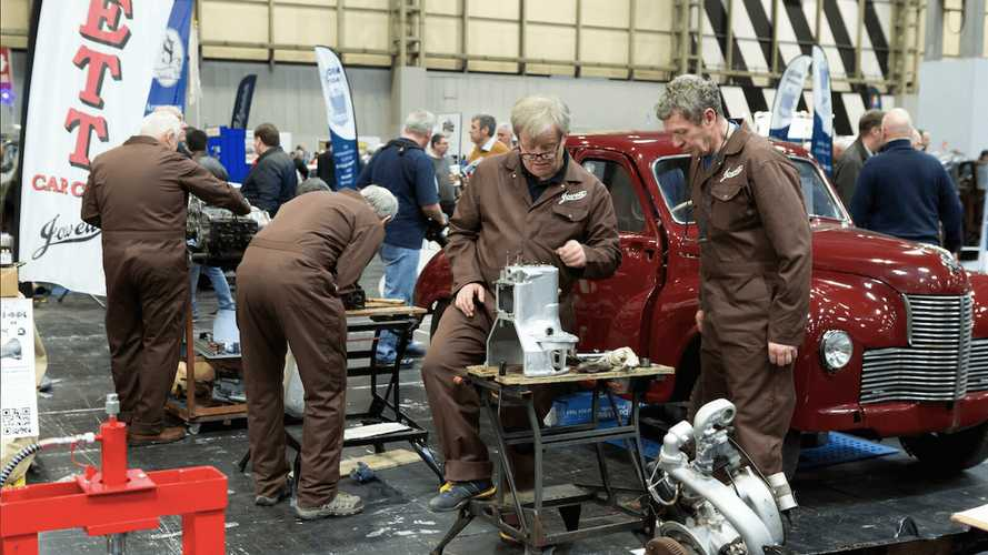 'Built to Last' theme unveiled for 2018 NEC Classic Car Show