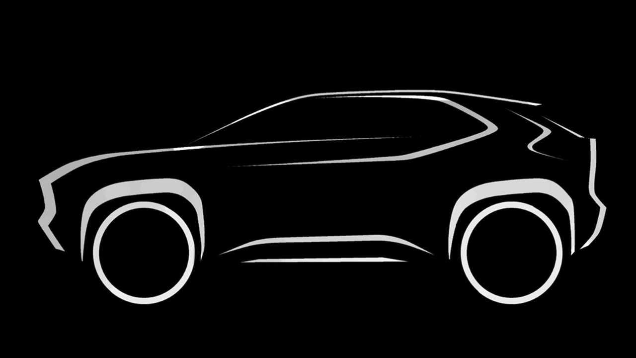 2020 Toyota B-SUV Teaser
