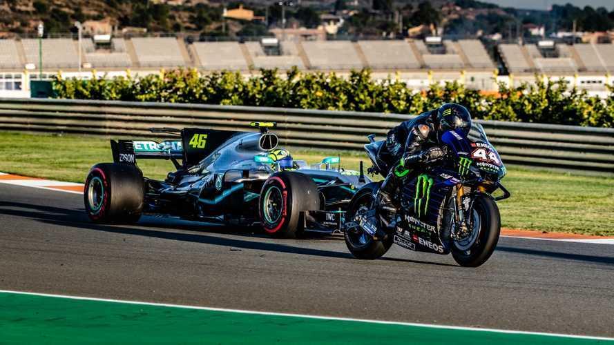 Échange Rossi-Hamilton: F1 et MotoGP